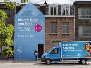 Albert Heijn gaat bezorgen in Gent, Aalst, Leuven en de rand van Brussel